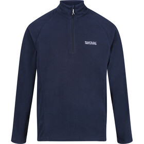 Regatta Montes Fleece Longsleeve Heren, brunswick blue/nightfall navy